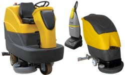 Range of scrubber dryers available for hire
